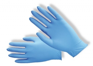 Rukavice nitrilové modré 6b97ae4fe3